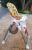 Adjustable aluminum high chair παιδική καρέκλα